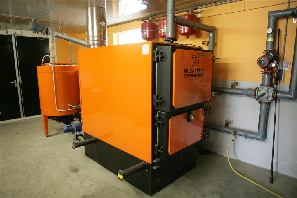 Energie biomassa kachel duurzame energie for D alessandro termomeccanica modello clp